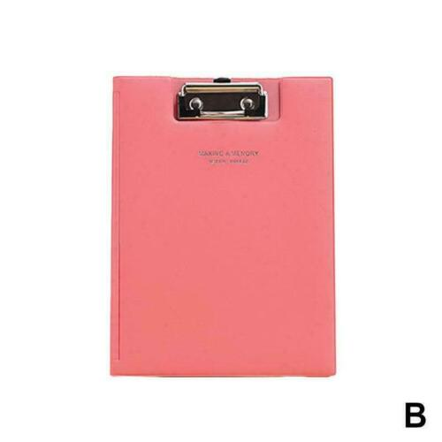 Waterproof Clipboard Writing Pad File Folder Document Holder School Supply O0O2