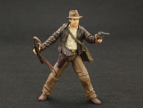 "INDIANA JONES RAIDERS OF LOST ARK 4/"" JOINTED ACTION FIGURE"