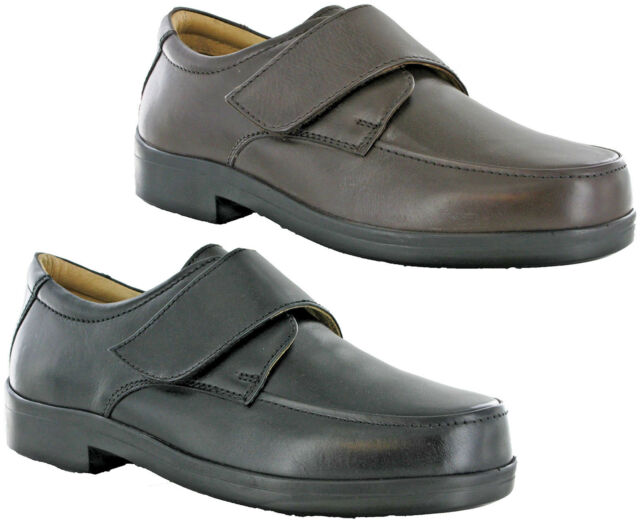 extra wide leather shoes