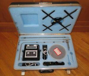 Shortridge Airdata Multimeter ADM-860 Micromanometer w/Accessories - 2019 Cal