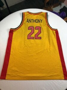 6b5fa78e3dd Image is loading Nike-Jordan-Carmelo-Anthony-Oak-Hill-Basketball-Jersey