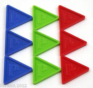 Pfandmarken-Wertmarken-Biermarken-in-Dreiecksform-P-Farbe-und-Menge-waehlbar