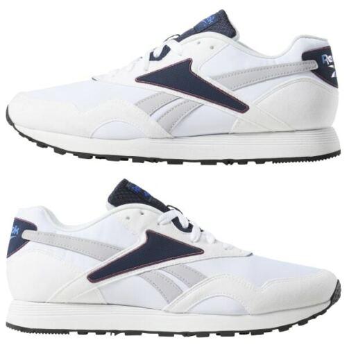 Reebok Classic Rapide Retro Runner Mens Trainers White CN7520 NEW BOXED