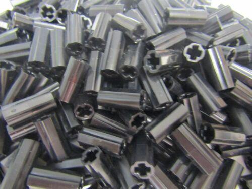 100 Stk Verbinder Connector Achs Pin Hülse schwarz 76139 LEGO Technic 6538c