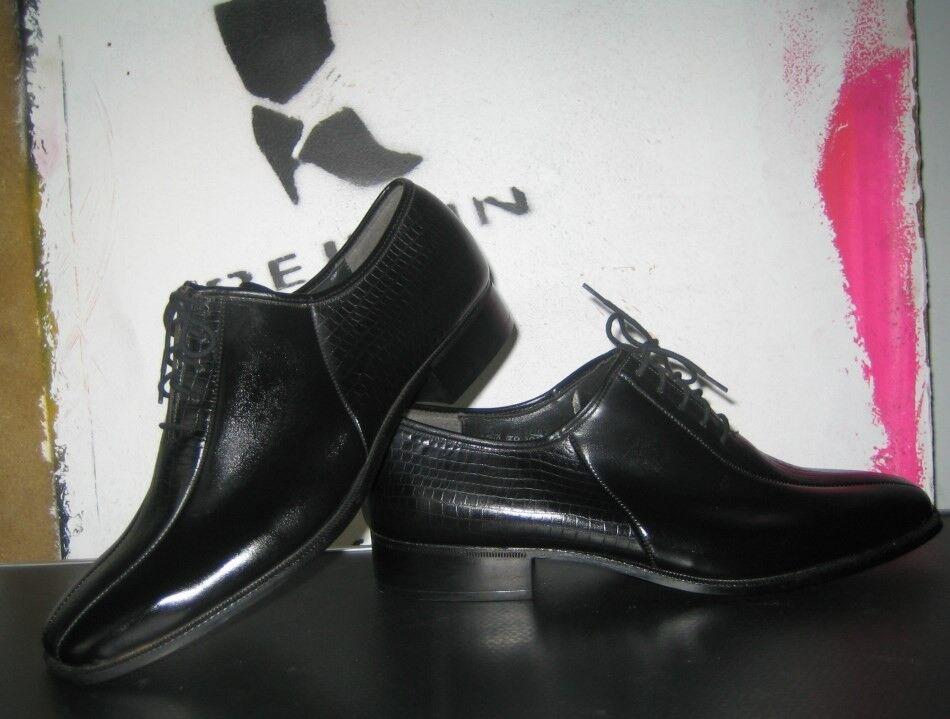 Zapatos casuales salvajes Descuento por tiempo limitado Herren Halbschuhe Otterbeck Modell 80er TRUE VINTAGE Schnürschuhe NOS schwarz