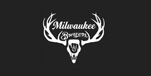 Deer Hunting Antler Truck or Car Window Decal Milwaukee Brewers Baseball