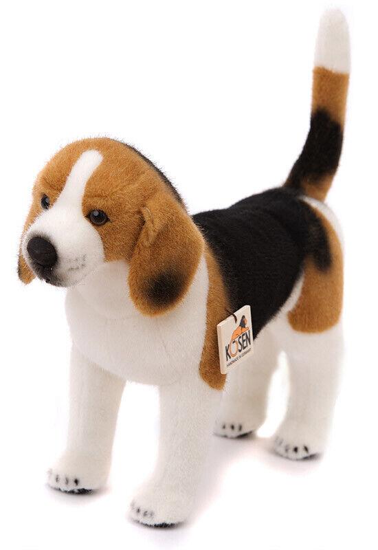 Beagle Plüsch Sammler Plüschtier Hund Welpe von Kosen   Kösen - 34cm - 7150