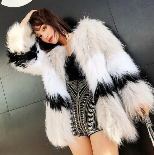 Luxury Singer Women's Outwear Coat Noble Warm Thick Parka 100 Natural Fur Real rrdfSx8