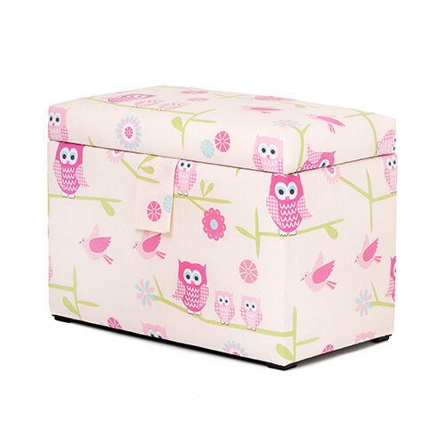 Owls Toy Chest Soft Closing Foam Padded Storage Children S: Children's Jumbo Storage Chest Boys Girls Toy Books Box