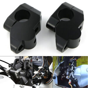 CNC HandleBar Handle Bar Mount Clamps Riser For BMW Ducati Aprilia Triumph