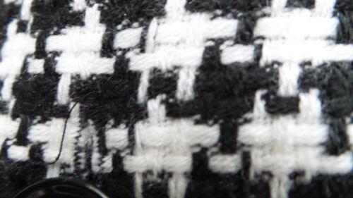 Vintage Willi Neck Jacket 10 Størrelse Sort Hvid Smith Boat Bæltet rrTxgnB