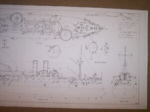 image is loading uss-maine-ship-plans