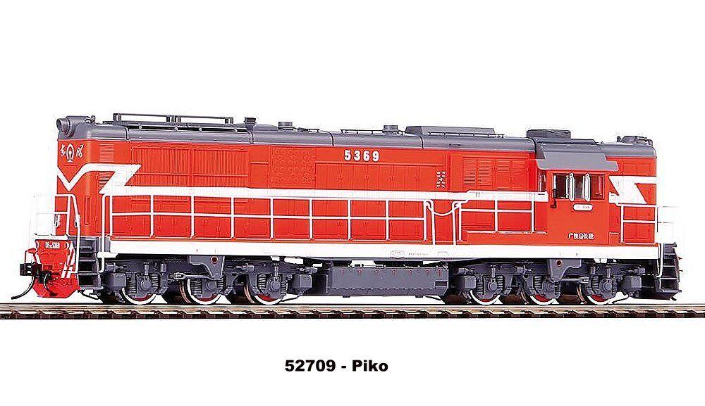 Piko 52709 - Diesellok DF7C DF7C DF7C Guangzhou Railway Wechselstromversion Neu 07e63a