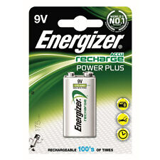 Energizer Accu Recharge Power Plus Rechargable  Battery - 9V - NiMH 175 mAh New