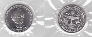 MARSHALL-ISLANDS-5-UNC-COIN-1997-YEAR-PRINCESS-DIANA-SEALED