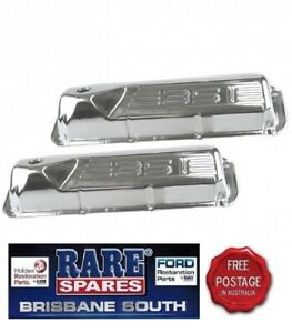 FORD-FALCON-CHROME-351-EMBOSSED-TAPPET-ROCKER-COVER-CLEVELAND-XY-XA-XB-XC-XD-XE