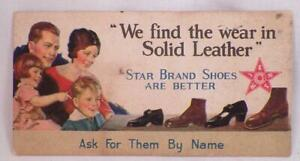 Antique-Advertising-Card-Star-Brand-Shoes-Are-Better-Solid-Leather-Premium-1