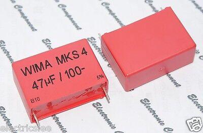 1pcs 1000V 5/% pich:37.5mm Capacitor 3.3µF 3.3uF WIMA MKS4 3.3uF