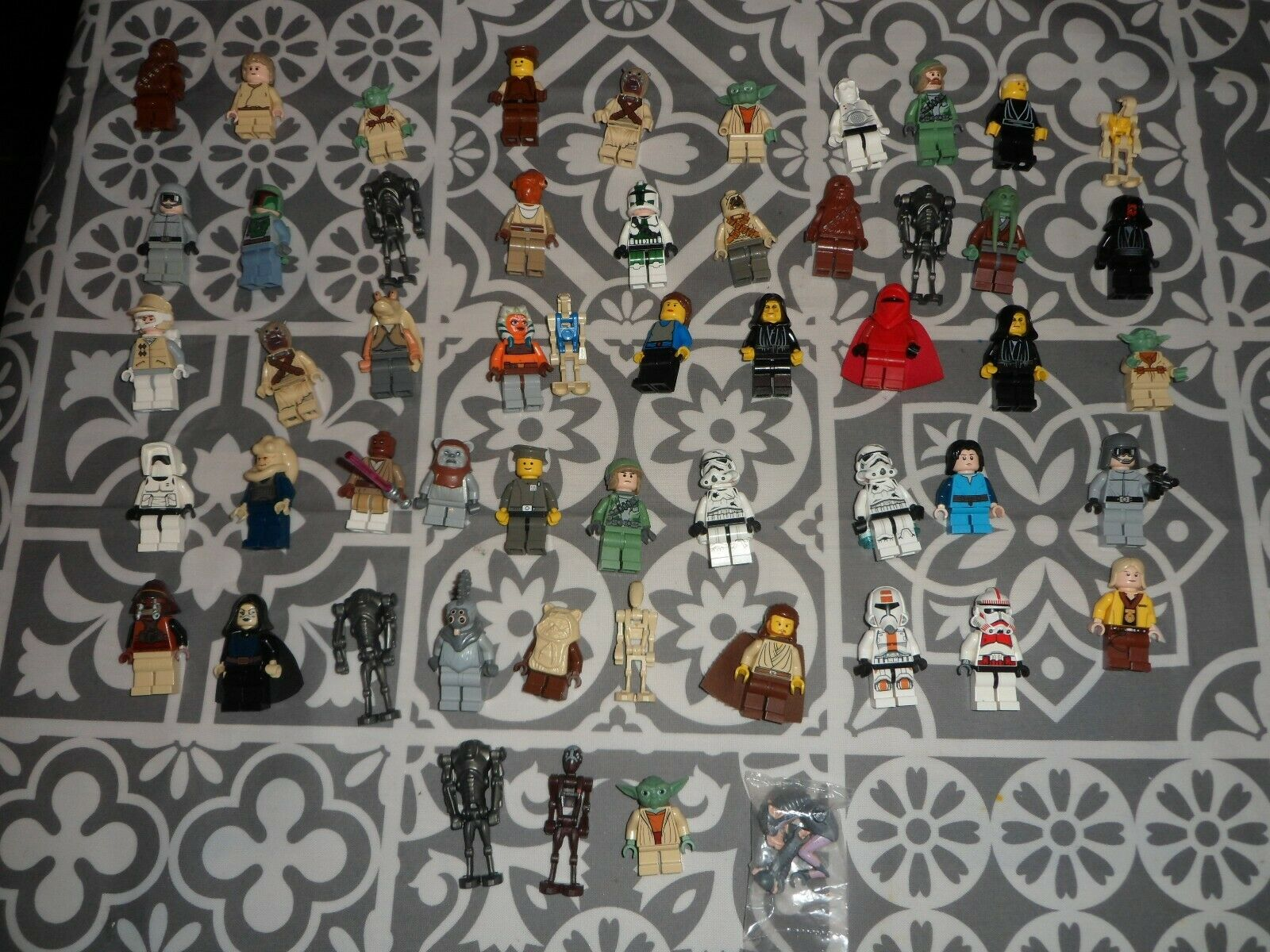 54 X LEGO STAR WARS GENUINE  Minifigures LOT - VGC MASSIVE COLLECTION L@@K