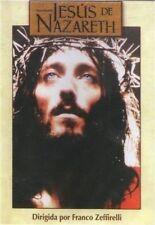 JESUS DE NAZARETH (JESUS OF NAZARETH) DVD|2 disc set | ENGLISH& ESPANOL
