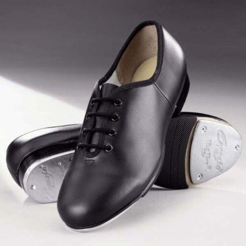size UK 2 Black Capezio teletone extreme tap shoes cg55