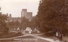 Naworth Castle Nr Brampton unused RP old PC  Good
