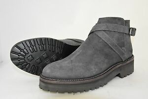Rubber kudu Kudu Sole Boot ankle 37eu Grigio grey stivaletto Woman vibram SqzRYwY