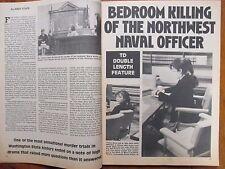 "June, 1981  ""True  Detective""  Magazine (ROLAND PITRE/CATHY WOODS/MICHAEL HARPER"
