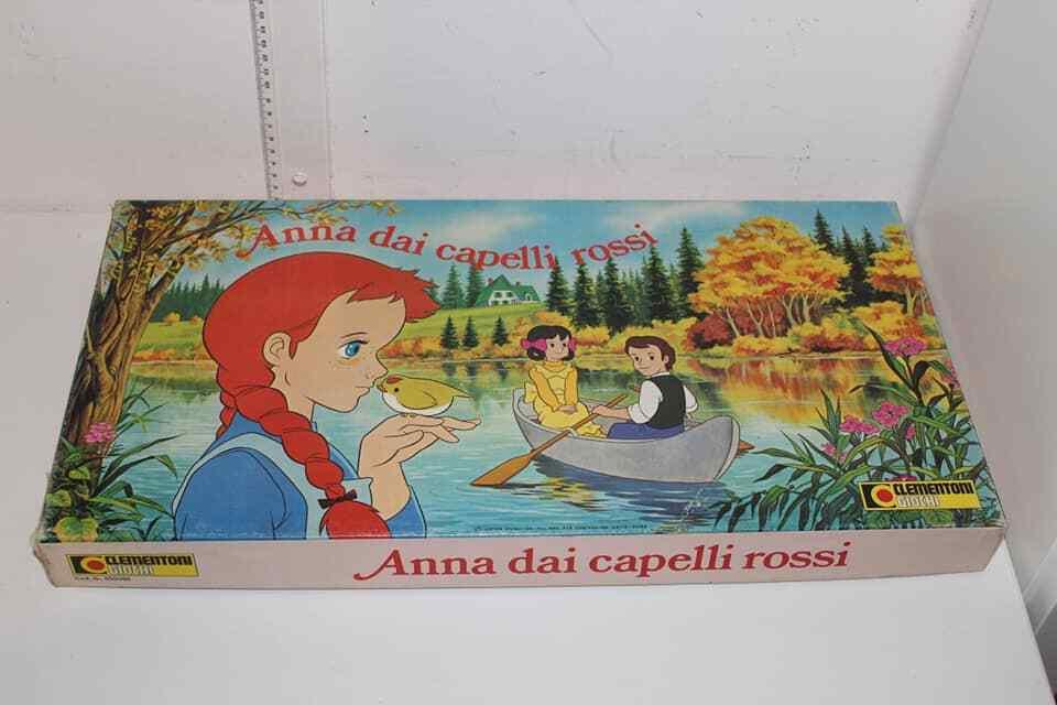 ANNA DAI CAPELLI ROSSI GIOCO IN SCATOLA CLEMENTONI 1980 VINTAGE TOY