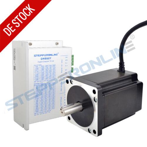 1 Achse CNC Kit 8.2Nm Nema 34 Schrittmotore 6A /& Stepper Motor Driver DM860Y