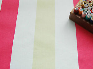 Tremendous Details About Heavy Cotton Canvas Upholstery Fabric Pink White Stripes By Half Metre 62 Bralicious Painted Fabric Chair Ideas Braliciousco