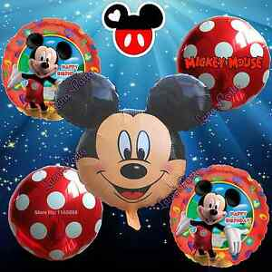 5pc-Mickey-Mouse-Birthday-Party-Balloons-Balloon-Minnie-Disney-boy-baby-shower