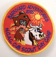 Barnyard Adventures 2000 Hoac Cub Boys Scout Day Camp Uniform Patch