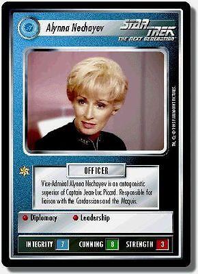 Star Trek CCG Premiere BB Limited Alynna Nechayev