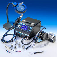 4 IN 1 X-TRONIC 9020-XTS HOT AIR REWORK SOLDERING IRON STATION FUME EXTRACTOR