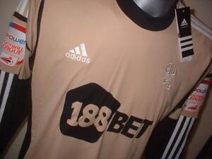 Bolton-Wanderers-Adidas-XL-Shirt-Jersey-Football-Soccer-BNWT-Player-Spec-Goalie