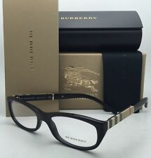 e03b8dd3181c item 6 New BURBERRY Eyeglasses B 2167 3001 52-16 Black Frames with Plaid  Design Temples -New BURBERRY Eyeglasses B 2167 3001 52-16 Black Frames with  Plaid ...