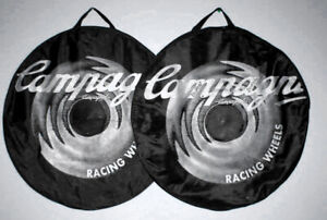 Campagnolo-Racing-Wheel-bags-2-700c-Black-Gray-Used