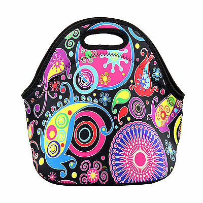 Colorful Insulated Tote Thermal Lunch Bag/Cool Bag/Cooler/Lunch Box/Picnic Bag