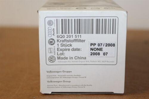 Vw audi polo A2 1.4 essence filtre à carburant avec pression reg 6Q0201511 genuine vw