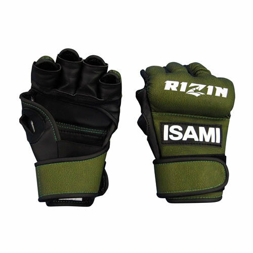 Authentic ISAMI RIZIN official match Open finger g s M  made in JAPAN MMA JPN  considerate service