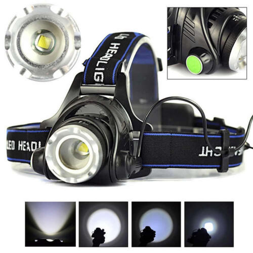 12000lm XM-L XML T6 LED-Stirnlampe Scheinwerfer Taschenlampe 18650 Head Light ia