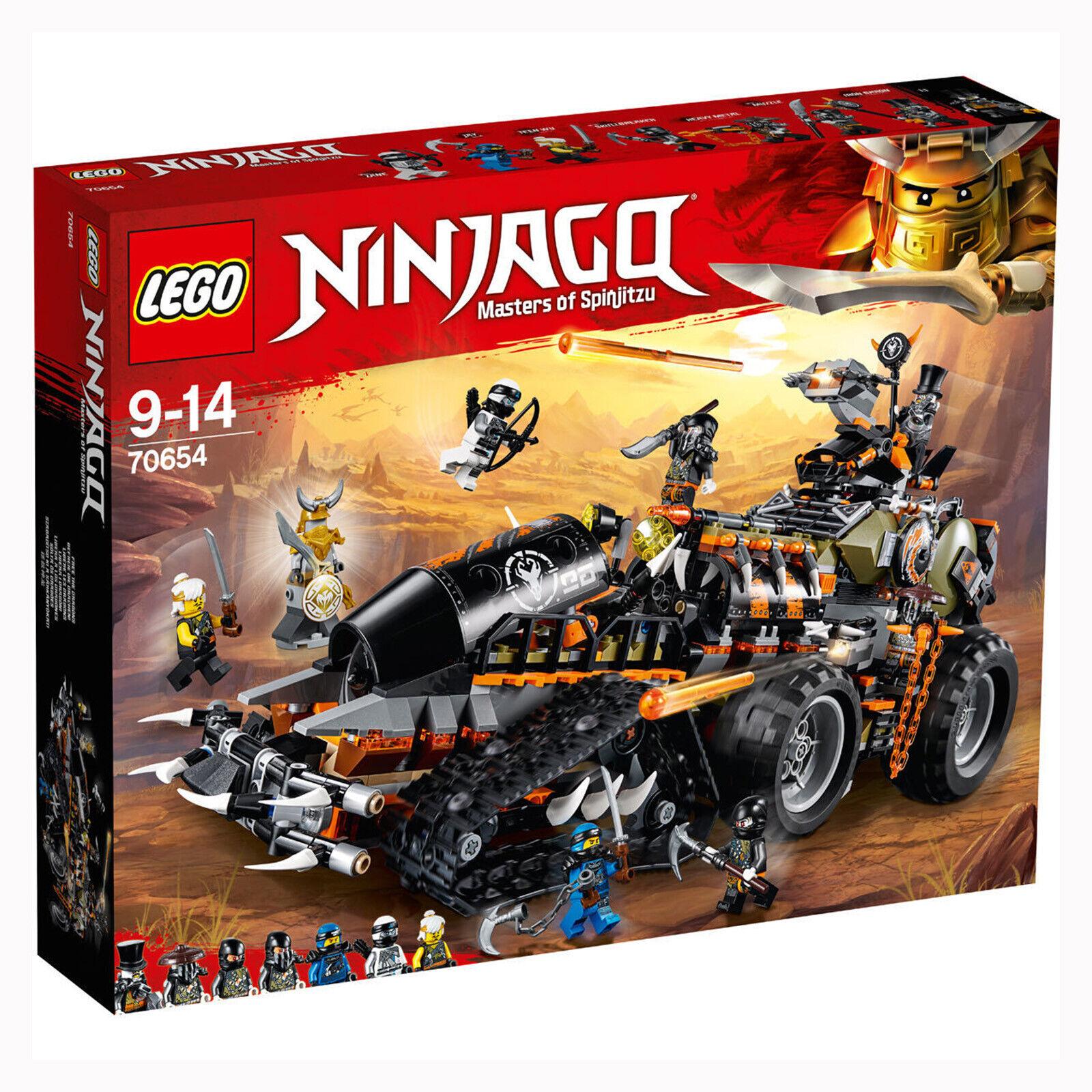 New LEGO 70654 Ninjago Dieselnaut Tank Dragon (1179 pieces inc inc inc 7 minifigures) 584ff3