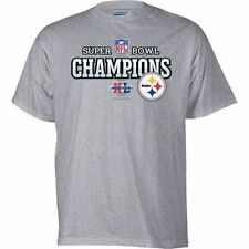 Pittsburgh Steelers Super Bowl 2006 OFFICIAL Locker Room Shirt XL FREE SHIPPING