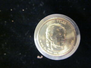 2009 P BU John Tyler Presidential Dollar From Mint Set Combined Shipping