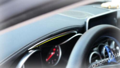 For Mercedes Benz C CLASS W205 GLC X253 2015-2018 Dashboard Up Edge Cover Trim