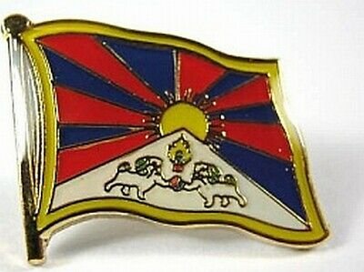 New With Pressure Lock Bringing More Convenience To The People In Their Daily Life 0 5/8in Objective Tibet Flags Pin Badge