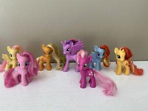 My Little Pony Lot Of 7 Small Pony Ebay