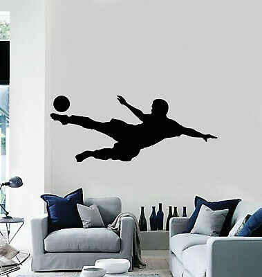 g1372 Details about  /Vinyl Wall Decal Soccer Ball Sports Fan Gate Team Game Room Stickers