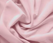 Awesome Designer PALE MAUVE Tissue Faille back High Sheen CHARMEUSE SATIN Fabric